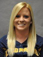 Curwensville grad Holly Lansberry finished her stellar career at Lycoming as a record holder in the circle and at the plate. (Photo courtesy Lycoming College)