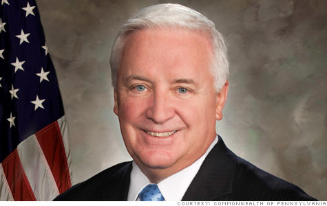 Gov. Tom Corbett (Provided photo)