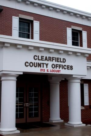 Clearfield Commissioners Hold Brief Workshop Meeting