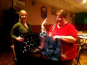 Thirty-One items showcased by Heather Bozovich, Clearfield BPW president and Robin Foor, Clearfield BPW parliamentarian. (Provided photo)