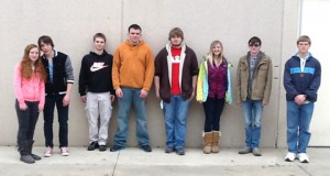Shown are members of the DAHS Science Team that competed at the Science Olympiad at Penn State Behrend on March 11. Shown, from left, are Kayla Brennan, AaronWolfe, Matt Campbell, Padon Rishell, Andrew Wells, Alexendra Feldbauer, Jacob Sutter and Sawyer Rensel. Rensel and Wells were medalists in the Elastic Flyer Competition. (Provided photo)
