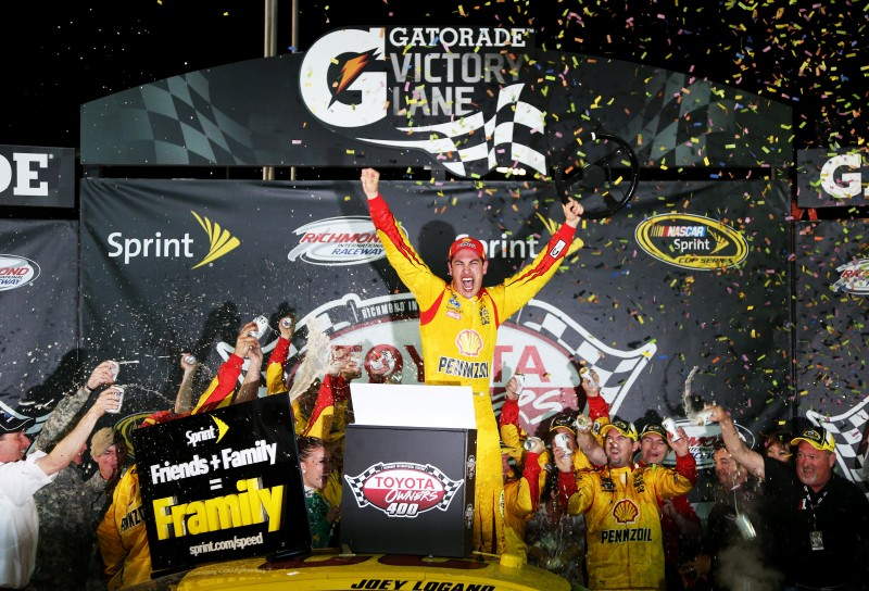 A wild battle in the final few laps gave way to Joey Logano winning at Richmond, and a few confrontations afterward.