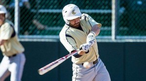 Junior Derek Danver is one of Clarion's leading hitters again this year (Photo courtesy Clarion Athletics)