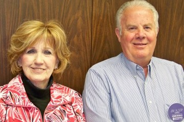 Penny Libreatori and Jim Alsop (Provided photo)