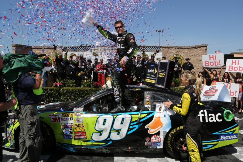 Once again, NASCAR had a repeat winner this season, but it was Carl Edwards' first win on a road course.