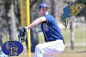 Former Bison pitcher Chad Zurat made his professional baseball debut recently (Photo courtesy Penn State Behrend)