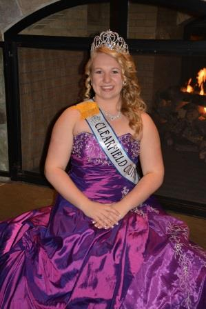 Clearfield Fair Queen Chosen as Miss Congeniality at PA Competition
