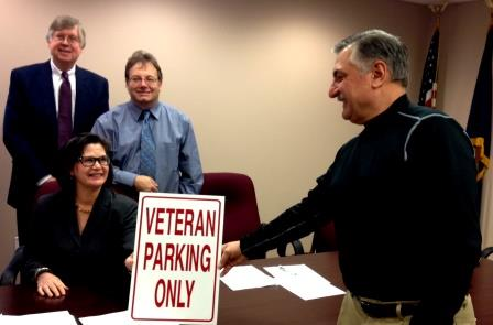 Sons of American Legion Initiates Veterans Parking, Paver Project in DuBois
