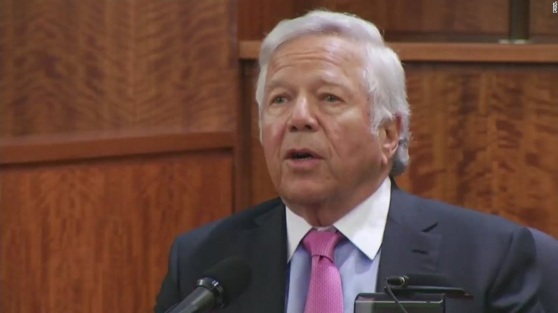 VIDEO: Patriots owner: Aaron Hernandez said he was innocent