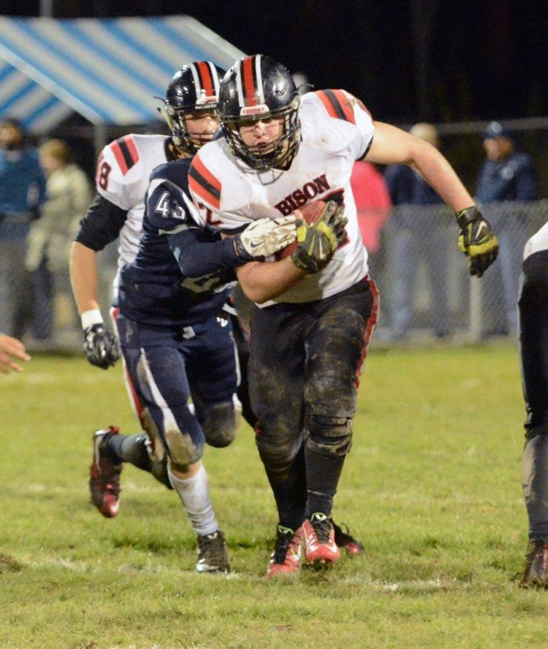 Entire Clearfield Bison Squad Contributes in Regular-Season Finale Victory over P-O