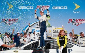 Keselowski had the best car all day, but in typical Talladega fashion, it was anything but a typical afternoon.