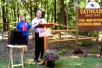 """Hidden"" Cemetery Re-dedicated at Ceremony"