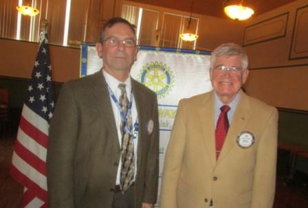 Cahill Presidents at Rotary Club