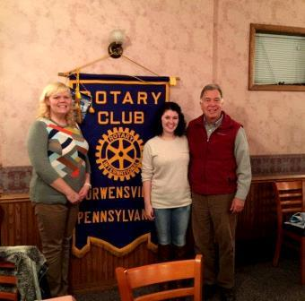 Duke was Guest at Curwensville Rotary Meeting