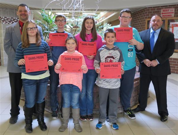 DuBois Middle School Students Receive Pride Award