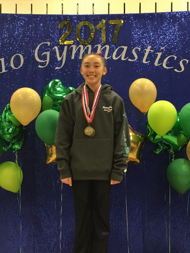 Collins Qualifies for Regional Gymnastics Meet