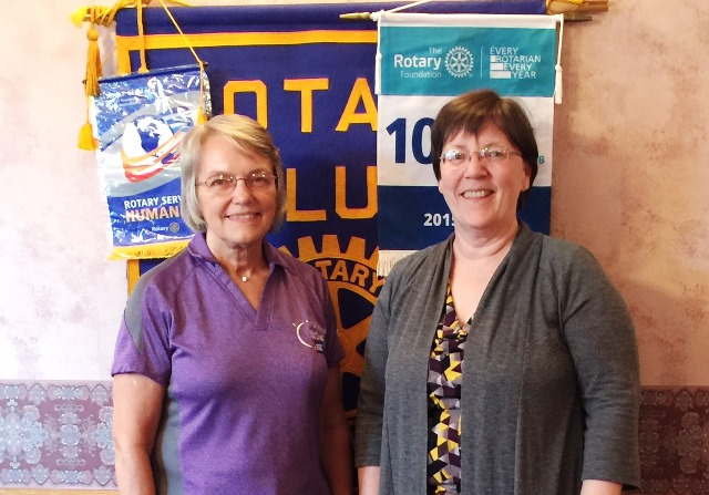 Curwensville Rotary Hears from Relay for Life Volunteer