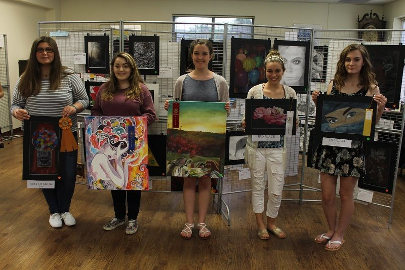 Center Awards Winners of Art Show