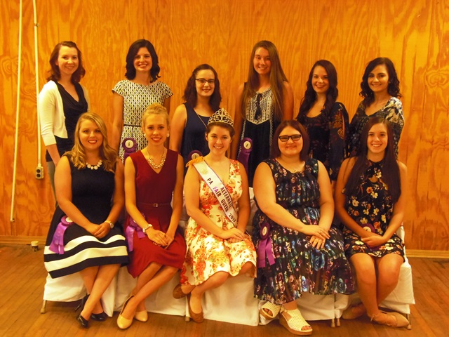 10 Girls to Vie for Clearfield County Fair Queen Crown