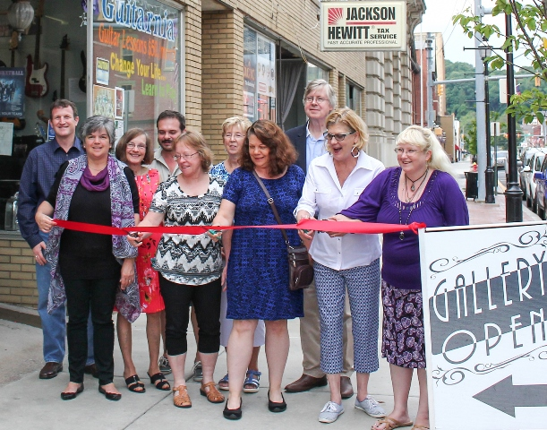 Susquehanna River Arts Center of Clearfield Holds Ribbon-Cutting, Grand Opening