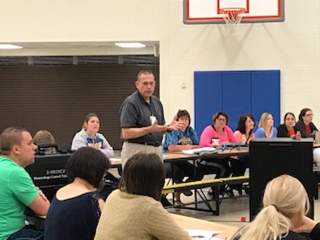 Glendale School Staff Members Receive Stop the Bleed Training