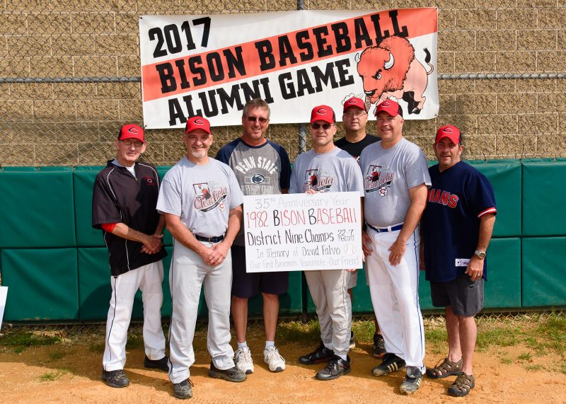 Jury's Hit Wins Bison Baseball Alumni Game for Black Team