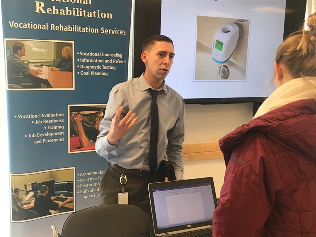 Students, Patients Learn about Latest Technology for Those with Disabilities