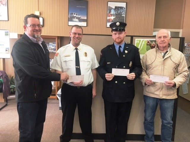 Boyles Insurance Donates to LT Fire Companies