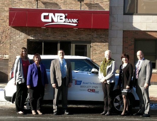 Bank Raises Funds for Vehicle for ACS' Road to Recovery Program