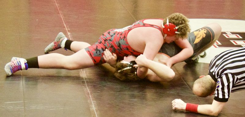 Bison Grapplers Win 12 of 14 in Domination Over Tyrone