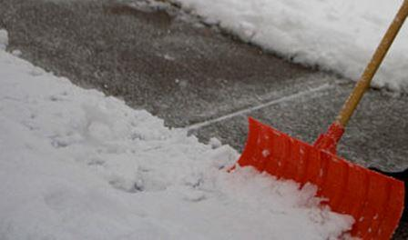 Clearfield Borough Residents Reminded to Clear Sidewalks