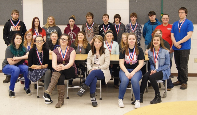 Jeff Tech Participates in Skills USA District Competition
