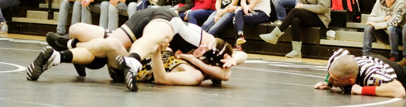 Curwensville Wins Three of Five Wrestling Matches Against Mo Valley