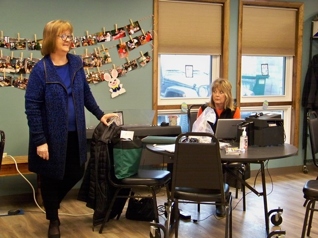 ATA Reps Visit Clearfield Center for Active Living