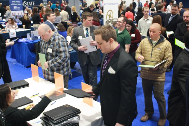 Career Event Prepares Students to Enter the Workforce