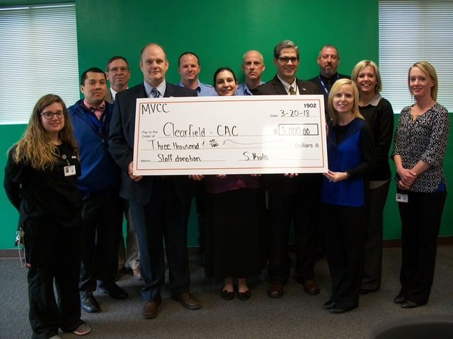 Child Advocacy Center of Clearfield County Receives Donation