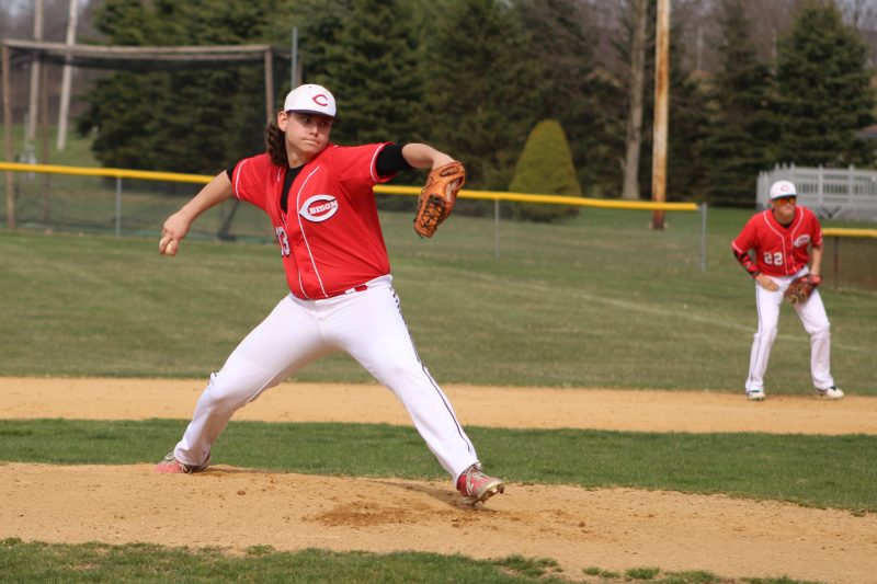 Four Run Inning Helps Clearfield Defeat Curwensville, 7-2