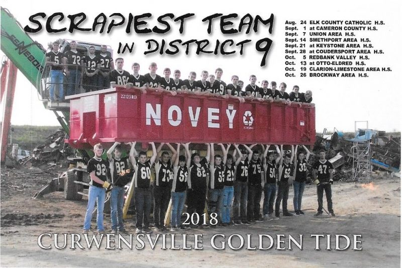 "Curwensville Football is ""Scrapiest Team in District 9"""