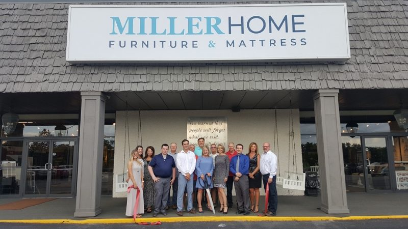 Ribbon-Cutting Held at Miller Home Furniture & Mattress