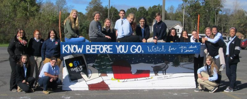 "PennDOT District 2 Continues ""Paint the Plow"" Program"