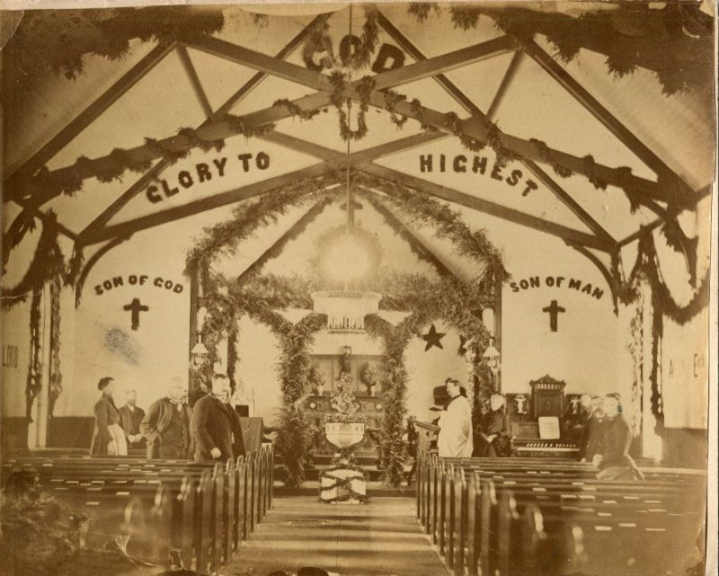 Throwback Thursday: An Old-Fashioned Christmas at Holy Trinity Episcopal Church