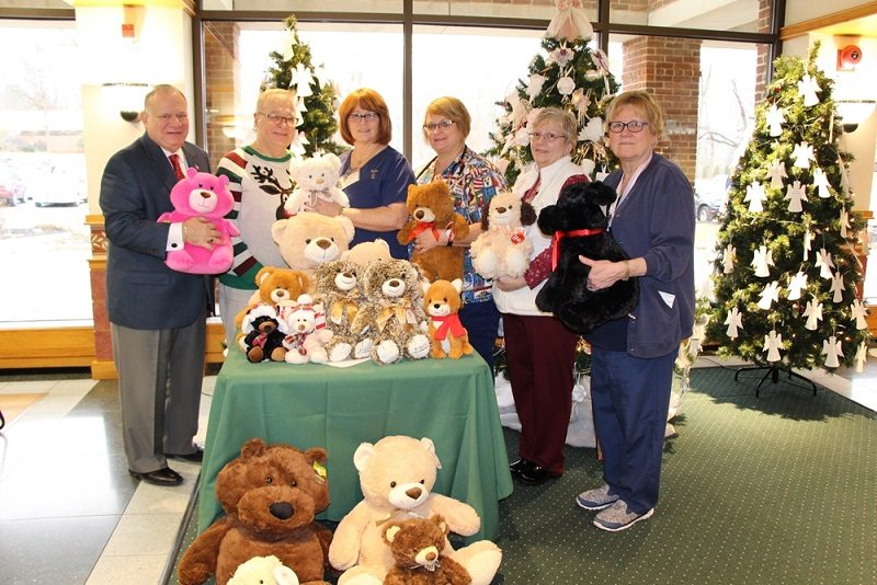 Moshannon Valley Correctional Center Donates Teddy Bears to Tyrone Hospital
