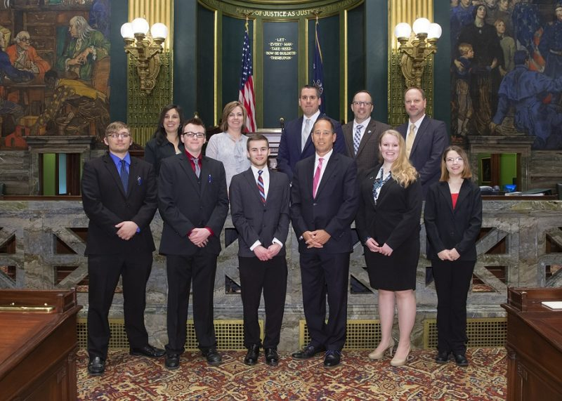 Penn State DuBois Represented in Harrisburg for 'Capital Day'