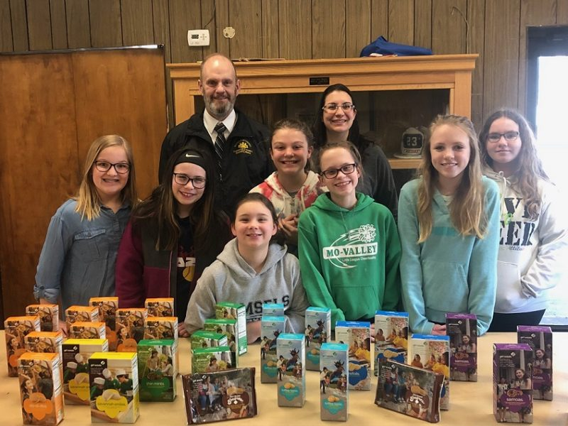 Child Advocacy Center Receives Donation from Girl Scouts