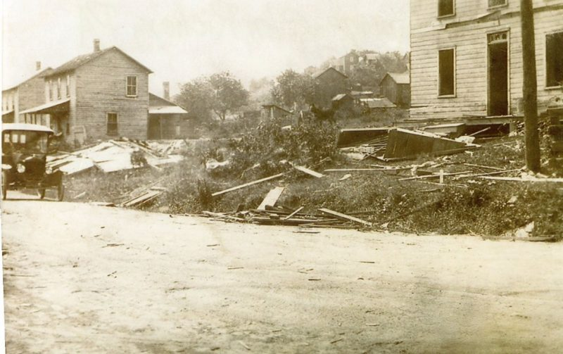 Throwback Thursday: Glen Richey Tornado Damage in 1919