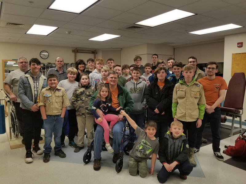 Scouts Complete Disabilities Awareness Merit Badge