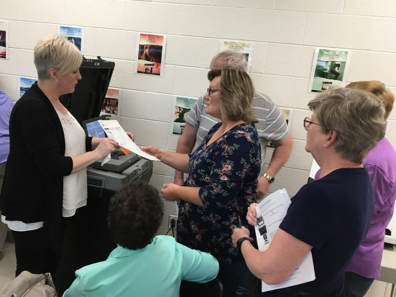 Pennsylvania's Centre County Poll Workers Train with Upgraded Voting System