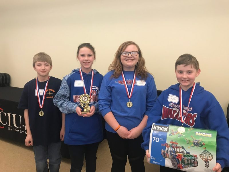 CIU No. 10 Announces 2019 K'Nex Design Challenge Winners