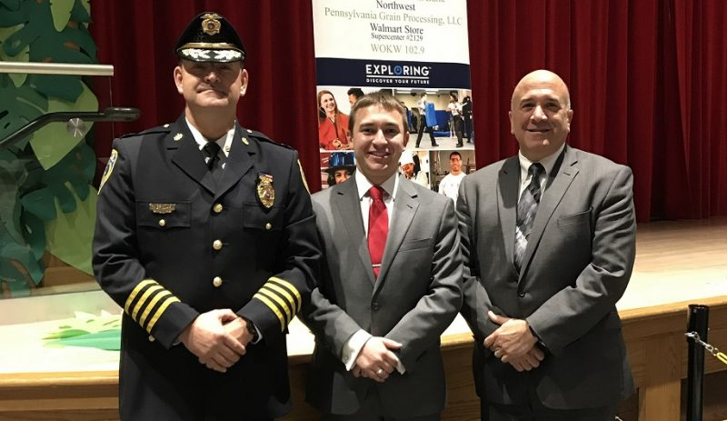 Clearfield Students Hear from County Judge, Police Chief During Exploring Program