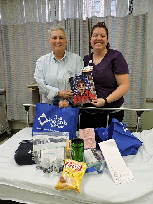 2 PH Clearfield Employees Team Up on The Jaxson Project to Provide Comfort Bags